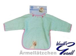 Ärmellätzchen - Kuschelzoo - mint - rosa Sterntaler