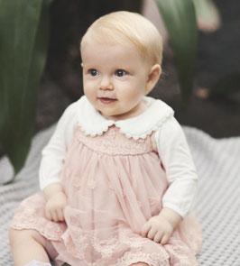 Kleid - Name it Baby Kleid Tüll & Spitzen Kleid - Hängerchen - Taufe - Festmode