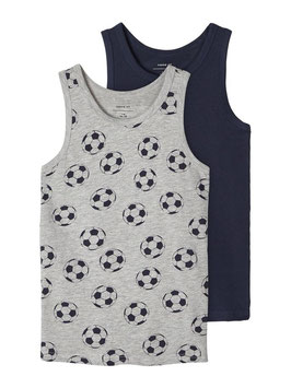 Top - 2ER-PACK TANKTOP - NAME IT KIDS JUNGEN