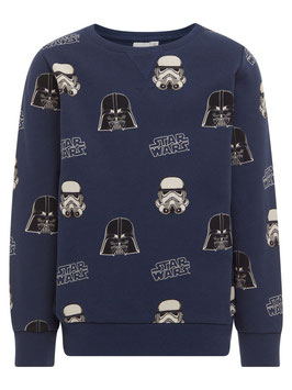 Sweater Star Wars blau - NAME IT KIDS JUNGEN