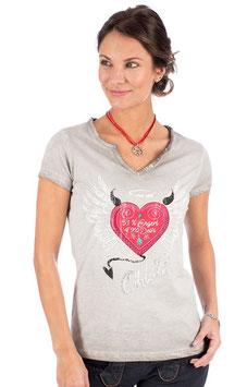 Shirt - Tracht - Hangowear Damenshirt grau - ENGERL & DEIFI
