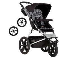 Kinderwagen - Mountain Buggy Terrain graphite inkl. Handbremse