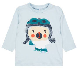 Baby Shirt mit Pilot - NAME IT BABY JUNGEN