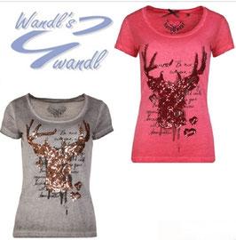 Shirt - Tracht - Hangowear Trachten T-Shirt Hirsch