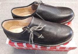 Schuhe - Tracht - Herren - Haferlschuh für Herren - Glattleder in dunkelbraun - Tracht Männer