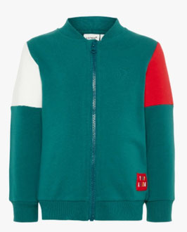 Sweatjacke grün -Aktion - NAME IT MINI JUNGEN
