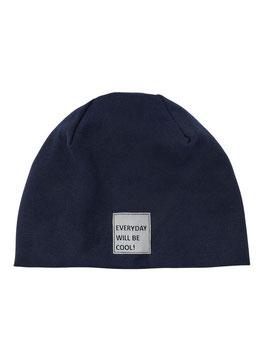 "Kopfbedeckung - Mütze - ""EVERYDAY WILL BE COOL""  - marine - NAME IT KIDS"