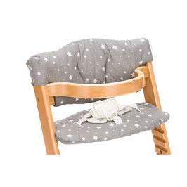 Sitzbezug für Hochstuhl Max - Modell graue Sterne