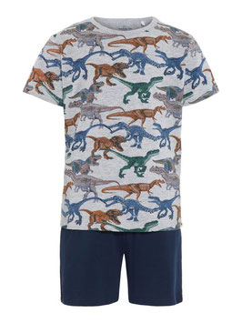 Pyjama Aktion Dino kurz - NAME IT KIDS JUNGEN
