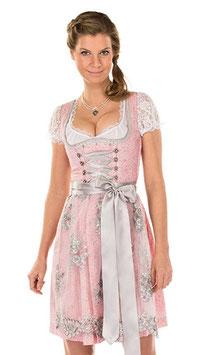 Damendirndl rosa silber - Tracht Damen