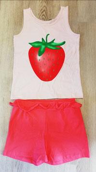 Sommerkombi - Erdbeere - AKTION - NAME IT KIDS MÄDCHEN