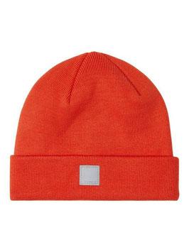 Kopfbedeckung - Strickmütze - Rippstrick - pumkin - orange - NAME IT KIDS
