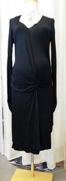 Umstandskleid schwarz - weiche Viskose - Mama Licious