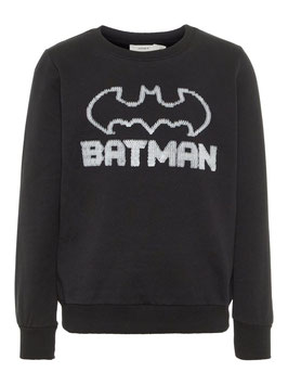 Shirt - KIDS PAILLETTEN SWEATSHIRT/ Glow in the Dark - NAME IT KIDS JUNGEN