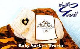 Socken - Trachten Socken natur - Baby - Kindertracht