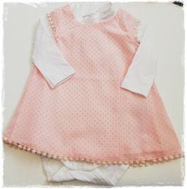 Kleid - Festkleid  lachs - name it - TAUFE