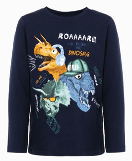 Shirt - Dino Shirt blau - NAME IT MINI JUNGEN