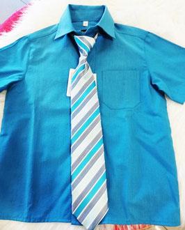 Kinderhemd aqua