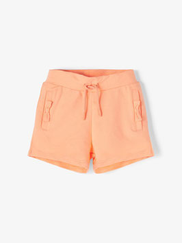 Hose - kurz - orange - BAUMWOLLE SWEATSHORTS - super weich - NAME IT MINI GIRL