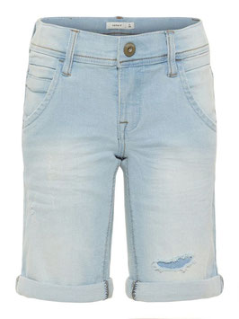 Jean kurz hellblau - NAME IT KIDS JUNGEN