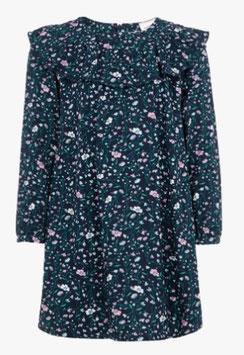 Kleid - Blumenprint Kleid blau - langarm -NAME IT MINI MÄDCHEN