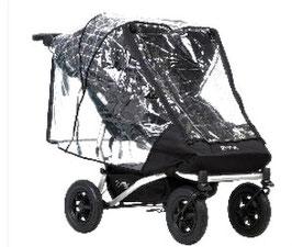 Regenschutz - Mountain Buggy Duet Storm Cover - Regenschutz für den Mountain buggy-Zwillings Kinderwagen