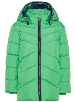 Winterjacke grün wattiert - NAME IT MINI JUNGEN