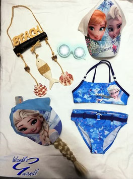 Bademode - Bikini - Eiskönigin Bikini - blau - Disney