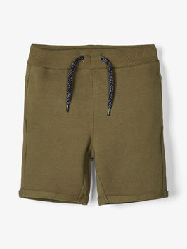 Baumwoll Short kaki - NAME IT MINI JUNGEN