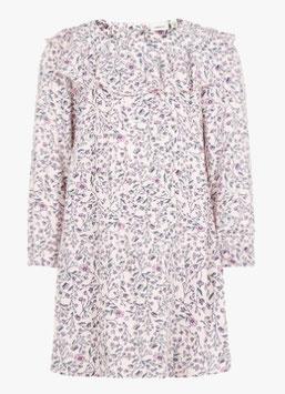 Kleid - Blumenprint Kleid rosa - NAME IT MINI MÄDCHEN