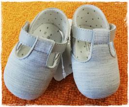 Schuhe - Babyschuh silbergrau - Mayoral - TAUFE - FESTMODE