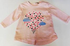 Shirt - Baby Shirt mit Ballonmotiv peachy keen - NAME IT BABY MÄDCHEN
