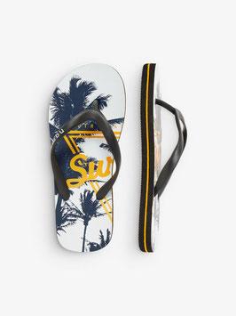 Schuhe - Flip Flop Surfing orange - NAME IT KIDS JUNGEN