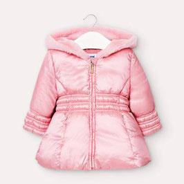 Winterjacke - Satin - Baby - Mädchen - rosa - Mayoral