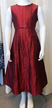 Kleid - dunkelrot - edel  - Firma Weise - Festmode