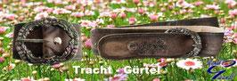 Gürtel - Tracht - vintage - Ziegenleder - Trachtengürtel - Kindertracht
