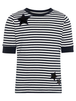 Kids Streif Shirt 3/4-Ärmel von name it