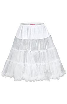 Petticoat weiß - Tracht Damen