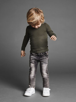 Jean - Super Power Stretch Jean grau - NAME IT MINI JUNGEN