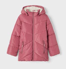 Winterjacke - Pufferjacke - deco rose - NAME IT KIDS GIRL