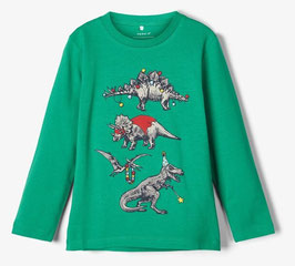 Shirt - Dino Shirt grün - NAME IT MINI JUNGEN