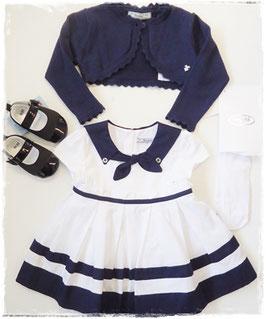 Kleid - Festkleid - Matrosenkleid - TAUFE