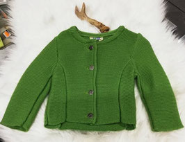 Tracht - Jacke - Trachten Strickjacke in grün für Mädchen - Tracht Mädchen