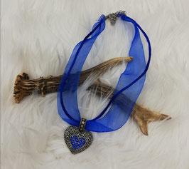 Trachtenkette - königsblau - Tracht Damen