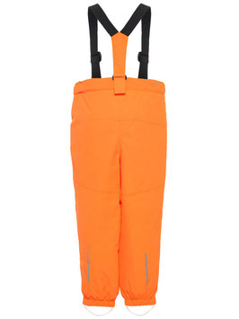 Kinder Skihose orange inkl. Latz