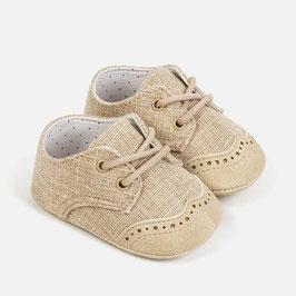 Schuhe - Babyschuhe - Leinenschuhe für Buben - Taufe