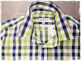 Hemd - Tracht - Trachtenhemd in apfelgrün - blau - Tracht Männer