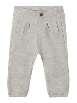 Hose - Babyhose -  Baumwolle - grau - name it - TAUFE - FESTMODE