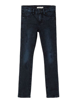 Hose - Jean - Powerstretch - slim - vintage blau - NAME IT KIDS JUNGEN