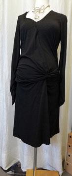 Umstandskleid grau - weiche Viskose - Isa Dress Mama Licious